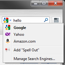 How to add a search provider in Firefox